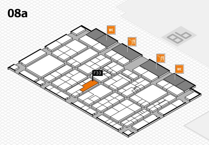 K 2016 Hallenplan (Halle 8a): Stand F33