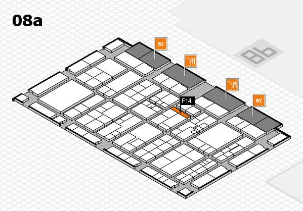 K 2016 Hallenplan (Halle 8a): Stand F14