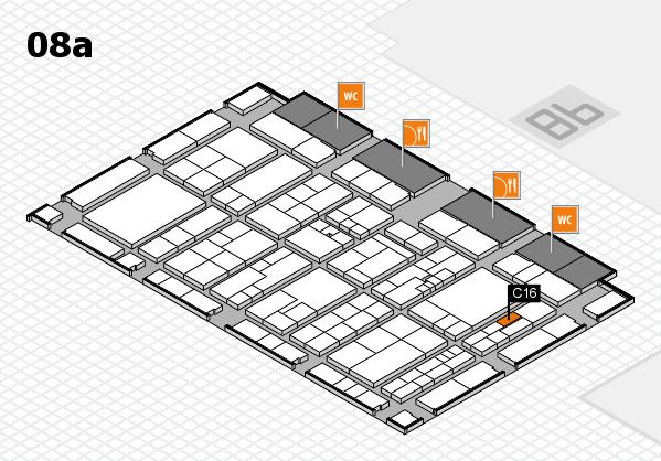 K 2016 Hallenplan (Halle 8a): Stand C16