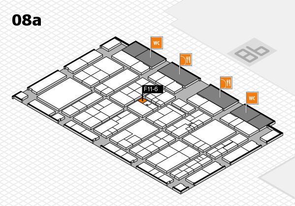 K 2016 Hallenplan (Halle 8a): Stand F11-6