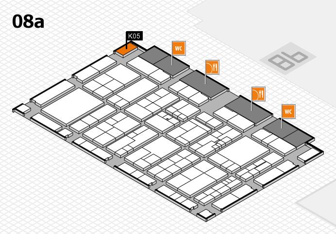 K 2016 Hallenplan (Halle 8a): Stand K05