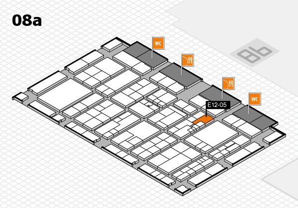 K 2016 Hallenplan (Halle 8a): Stand E12-05