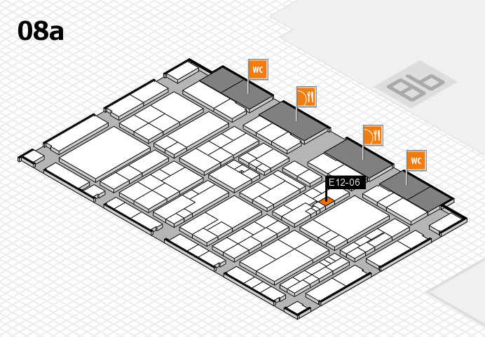 K 2016 Hallenplan (Halle 8a): Stand E12-06