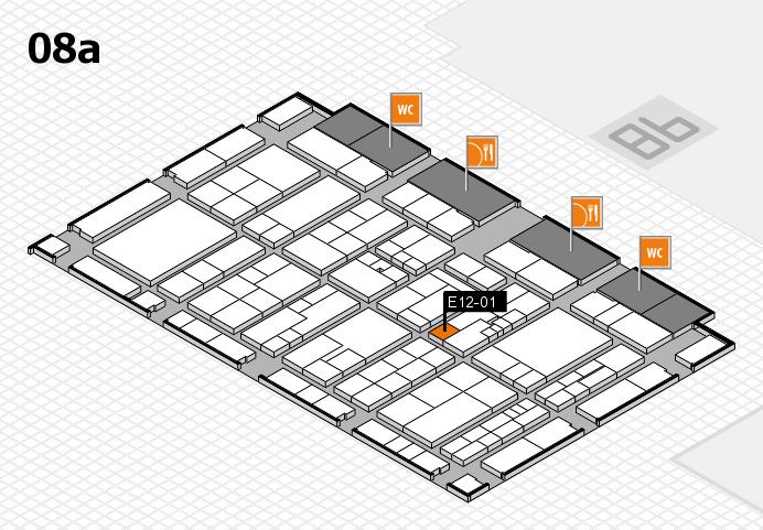 K 2016 Hallenplan (Halle 8a): Stand E12-01