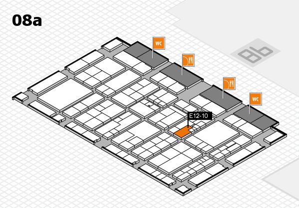 K 2016 hall map (Hall 8a): stand E12-10