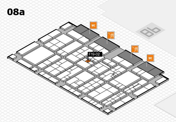 K 2016 Hallenplan (Halle 8a): Stand F19-02