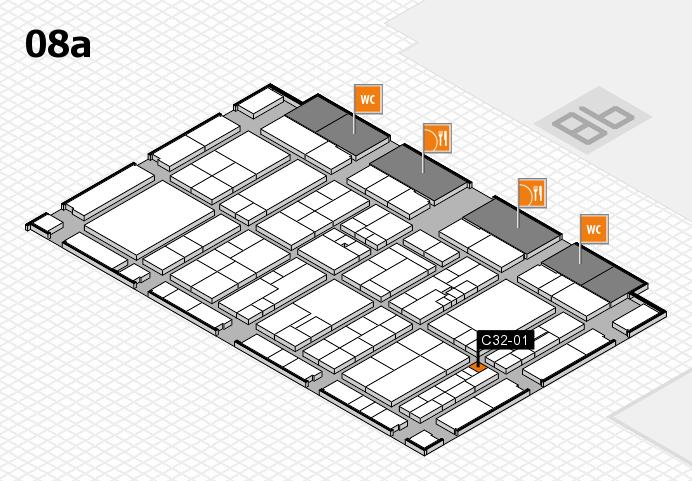 K 2016 Hallenplan (Halle 8a): Stand C32-01