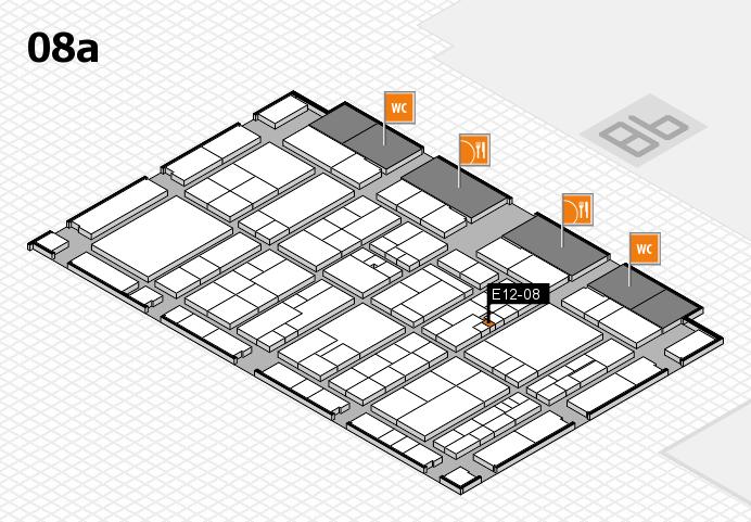 K 2016 hall map (Hall 8a): stand E12-08