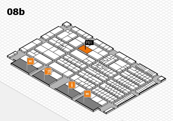 K 2016 Hallenplan (Halle 8b): Stand F51
