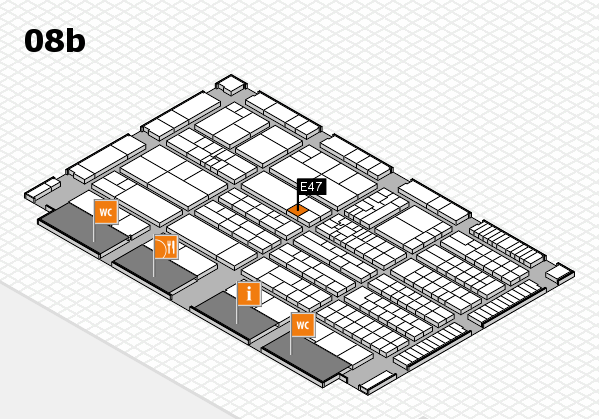 K 2016 Hallenplan (Halle 8b): Stand E47