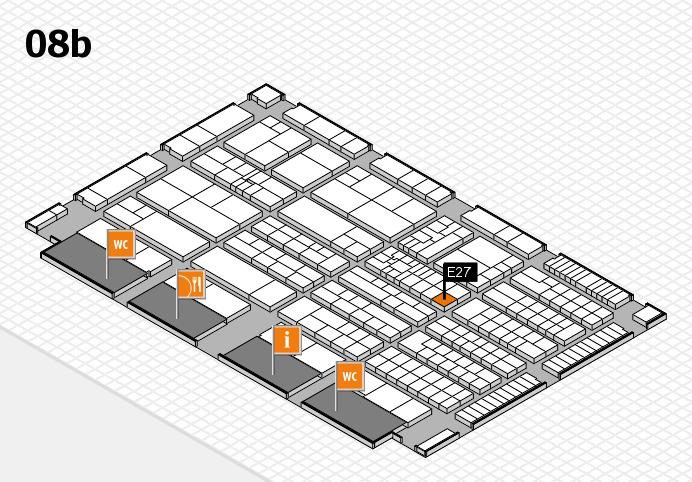 K 2016 Hallenplan (Halle 8b): Stand E27
