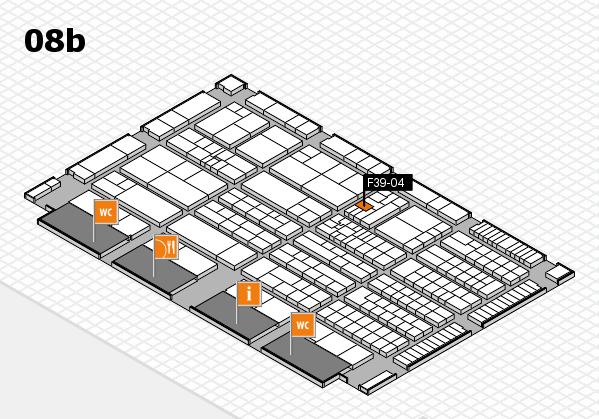 K 2016 hall map (Hall 8b): stand F39-04