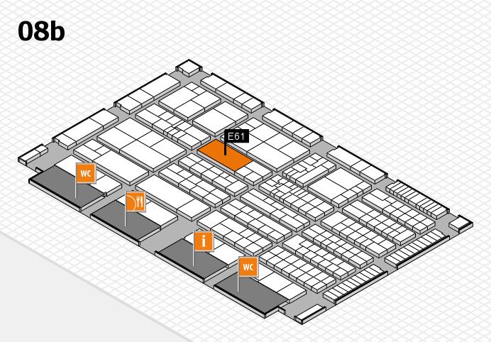 K 2016 Hallenplan (Halle 8b): Stand E61