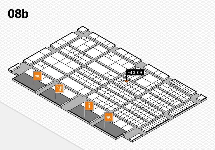 K 2016 Hallenplan (Halle 8b): Stand E43-09