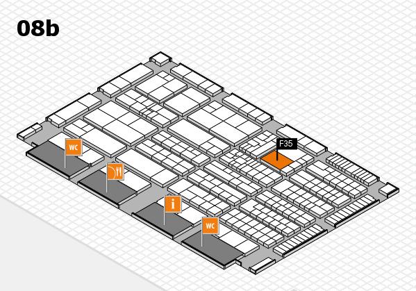 K 2016 Hallenplan (Halle 8b): Stand F35