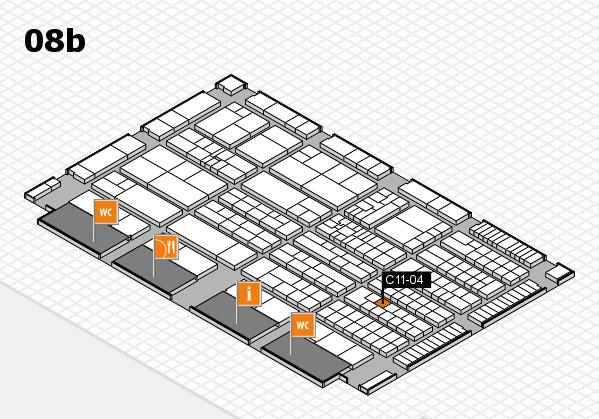 K 2016 Hallenplan (Halle 8b): Stand C11-04