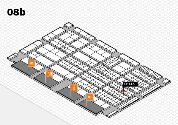 K 2016 Hallenplan (Halle 8b): Stand D11-09