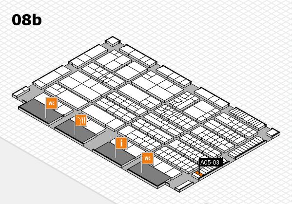 K 2016 Hallenplan (Halle 8b): Stand A05-03