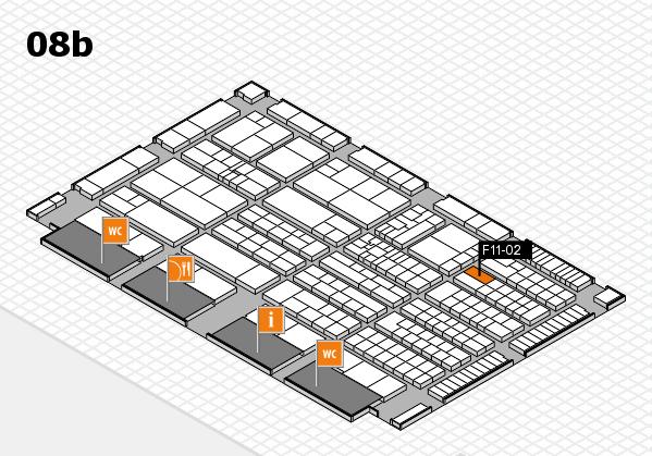 K 2016 Hallenplan (Halle 8b): Stand F11-02