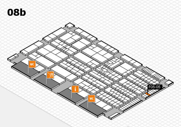 K 2016 Hallenplan (Halle 8b): Stand F05-05