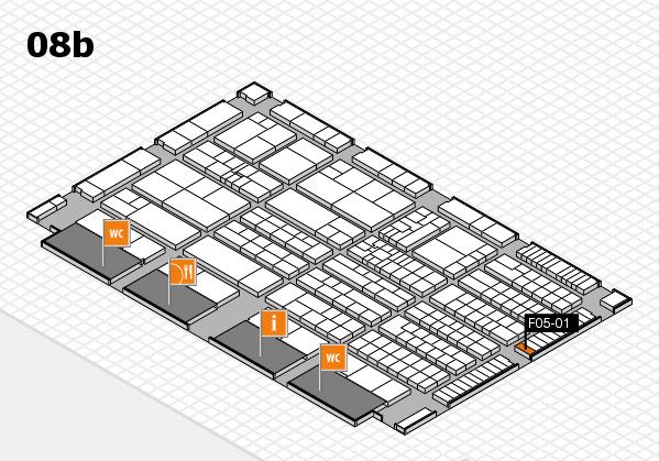 K 2016 Hallenplan (Halle 8b): Stand F05-01