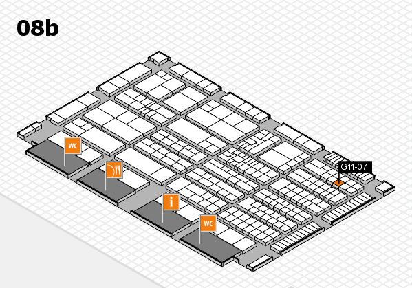K 2016 Hallenplan (Halle 8b): Stand G11-07