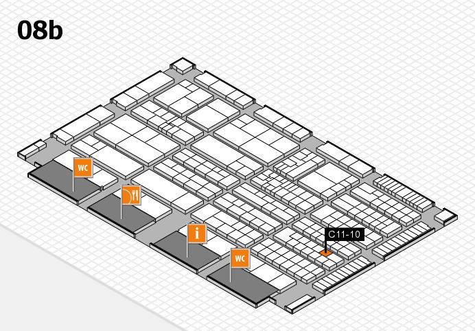 K 2016 Hallenplan (Halle 8b): Stand C11-10
