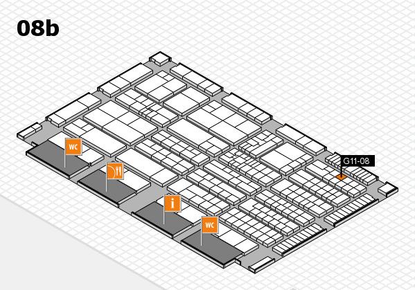 K 2016 Hallenplan (Halle 8b): Stand G11-08