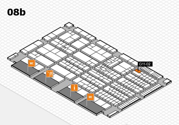K 2016 Hallenplan (Halle 8b): Stand G11-02