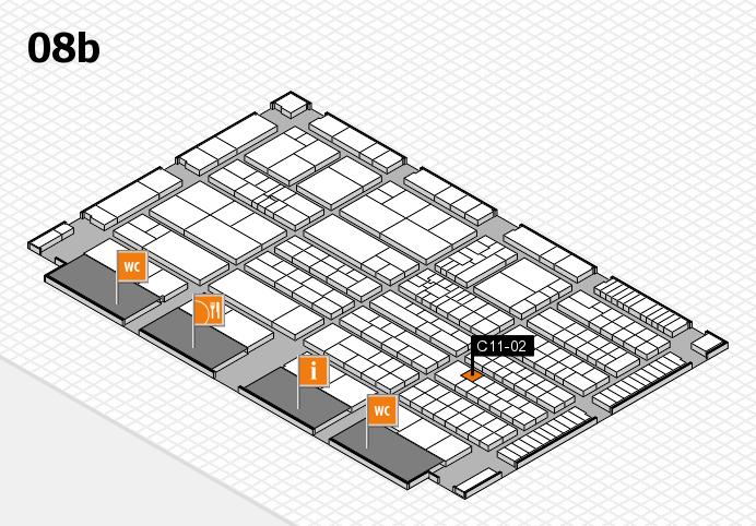K 2016 Hallenplan (Halle 8b): Stand C11-02
