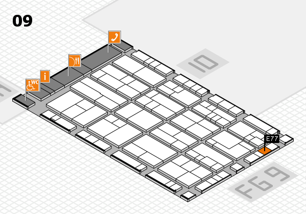 K 2016 Hallenplan (Halle 9): Stand E77