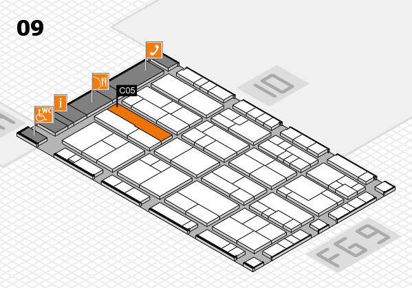 K 2016 Hallenplan (Halle 9): Stand C05