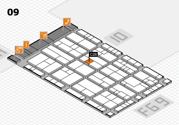 K 2016 Hallenplan (Halle 9): Stand C28