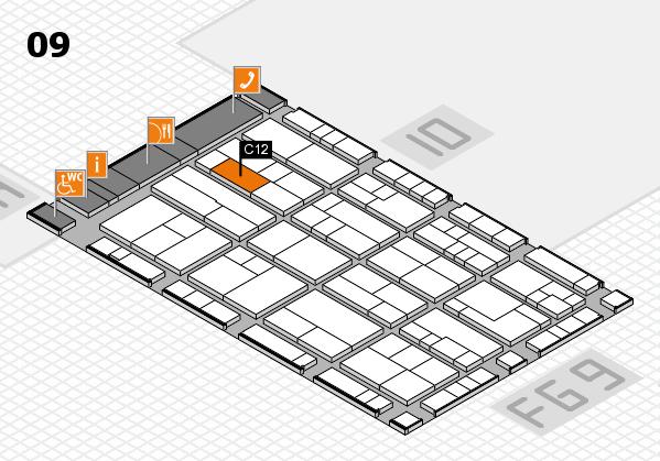 K 2016 Hallenplan (Halle 9): Stand C12