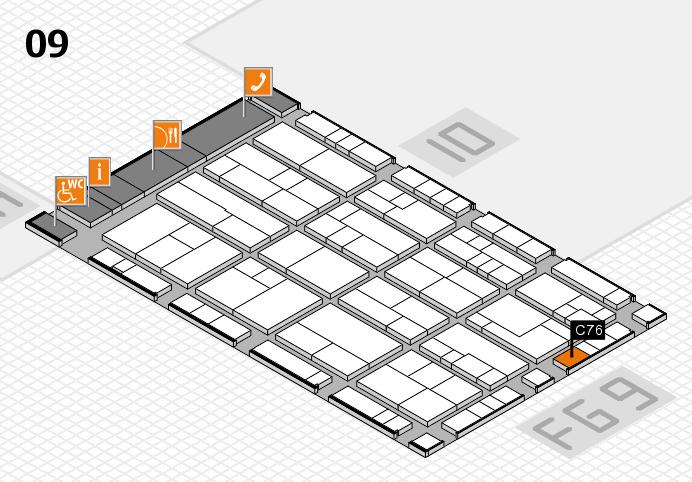 K 2016 Hallenplan (Halle 9): Stand C76