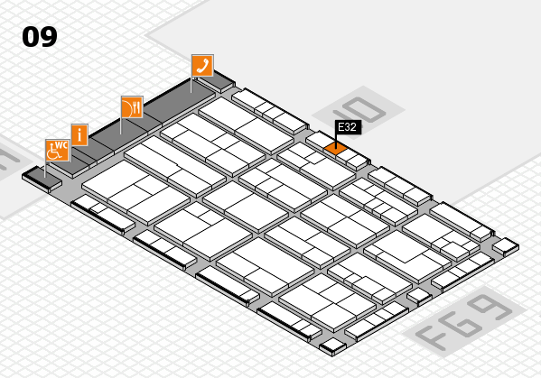 K 2016 Hallenplan (Halle 9): Stand E32