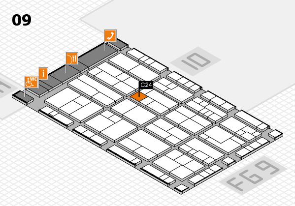 K 2016 Hallenplan (Halle 9): Stand C24