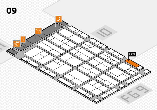 K 2016 Hallenplan (Halle 9): Stand E60