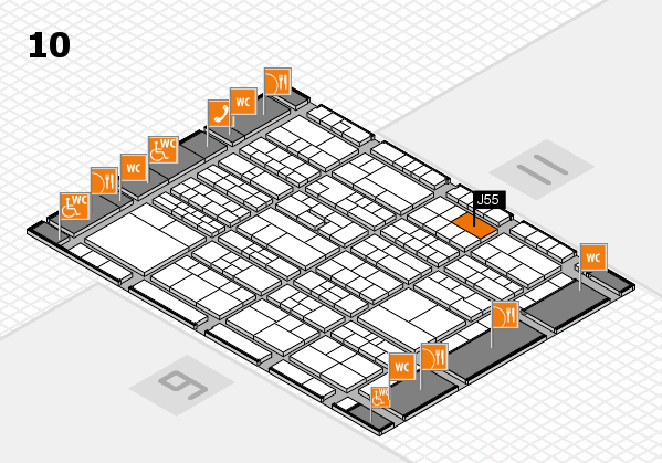 K 2016 Hallenplan (Halle 10): Stand J55