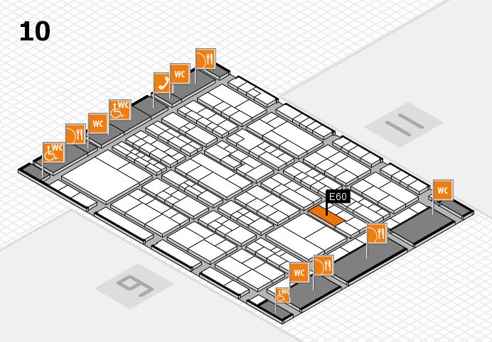 K 2016 Hallenplan (Halle 10): Stand E60