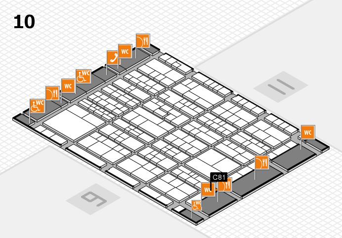 K 2016 Hallenplan (Halle 10): Stand C81