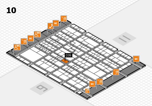 K 2016 Hallenplan (Halle 10): Stand D39