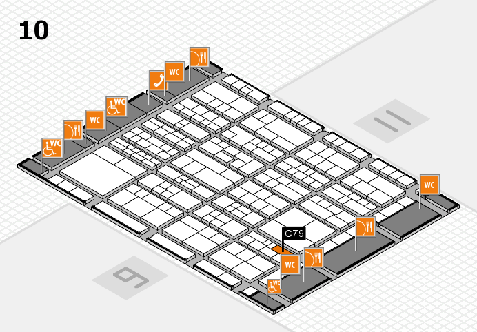 K 2016 Hallenplan (Halle 10): Stand C79