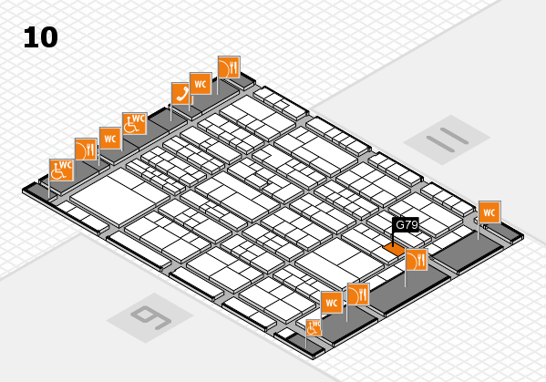 K 2016 Hallenplan (Halle 10): Stand G79