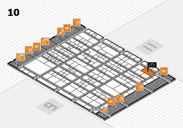 K 2016 Hallenplan (Halle 10): Stand J73