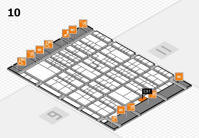 K 2016 Hallenplan (Halle 10): Stand E81