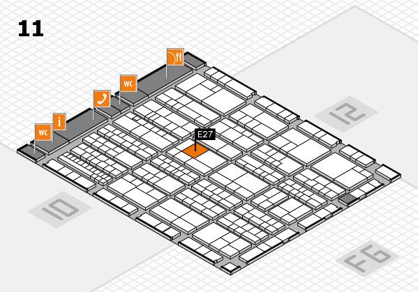 K 2016 Hallenplan (Halle 11): Stand E27