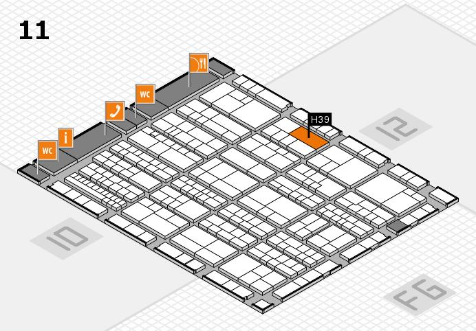 K 2016 Hallenplan (Halle 11): Stand H39