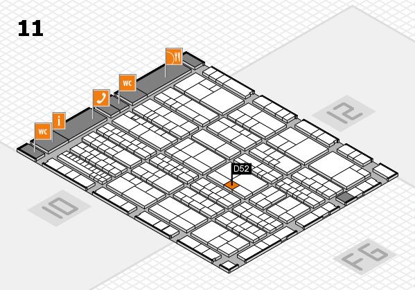 K 2016 Hallenplan (Halle 11): Stand D52
