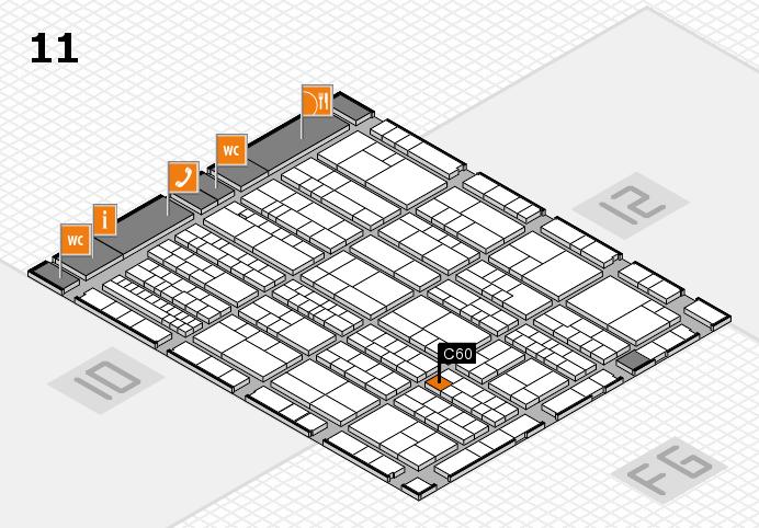 K 2016 Hallenplan (Halle 11): Stand C60